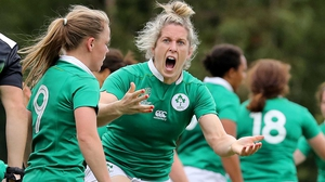 Alison Miller was injured in last year's Six Nations