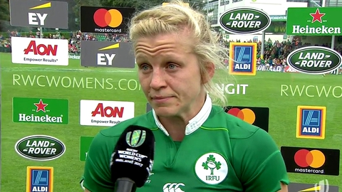 Captain Claire Molloy | Women's Rugby World Cup
