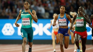 Reigning Olympic champion Caster Semenya was too good for the 800m final field on Sunday night