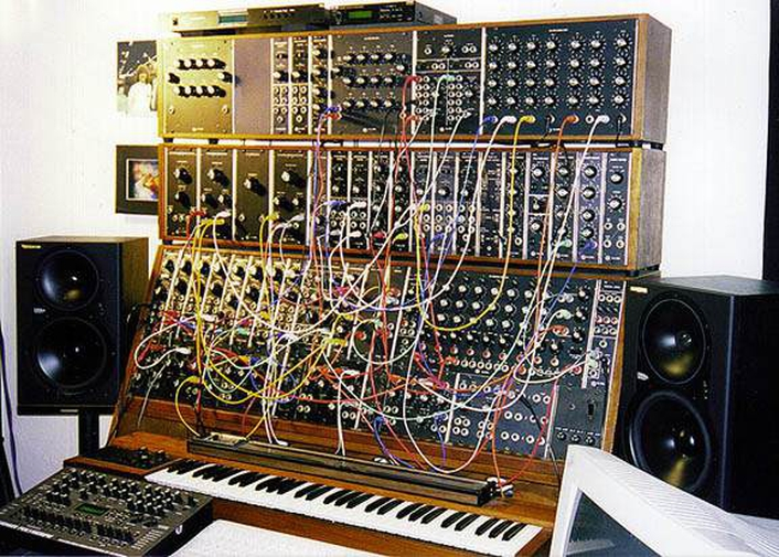 A demonstration of the Moog synthesiser