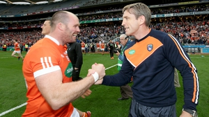 Ciarán McKeever thanked his manager Kieran McGeeney in announcing his retirement