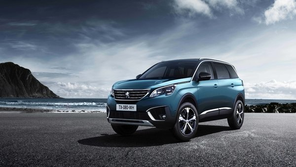 The new Peugeot 5008 has moved from the