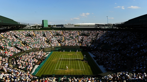 Wimbledon was cancelled for the first time since World War Two