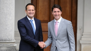 Leo Varadkar will be in Montreal and Toronto for three days from Sunday, when he will hold further talks with Canadian PM Justin Trudeau