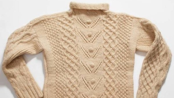 Aran jumper Image: National Museum of Ireland