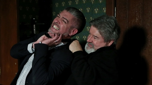 Trigger sets Gerry on Robbie