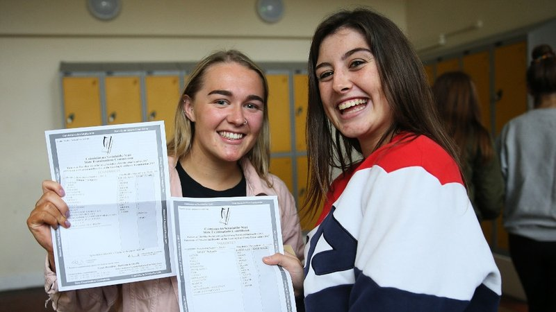 Thousands of students receive Leaving Cert results