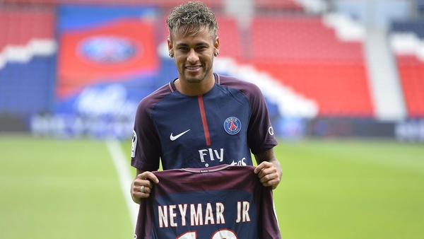 Neymar, the most expensive footballer in the world...at the time of writing. Photo: Getty Images