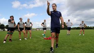 Ireland head coach Tom Tierney