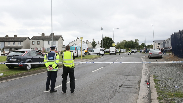 Gardaí have uncovered a gun after a double murder in Ballymun