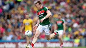 Donal Vaughan in action in the quarter-final replay win over Roscommon