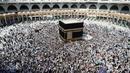 Qatar had accused the Saudis of politicising hajj