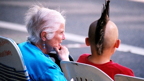 Bridging the generation gap. Photo: Xflickrx https://www.flickr.com/people/environment/