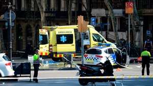 The crash occurred at the height of Barcelona's busy tourist season