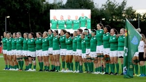 The Ireland team during the World Cup