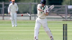 William Porterfield batting against the Netherlands in Malahide this week