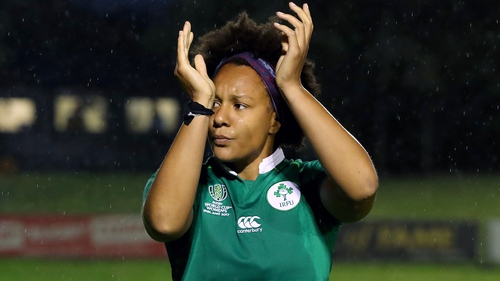 Sophie Spence represented Ireland at two World Cups
