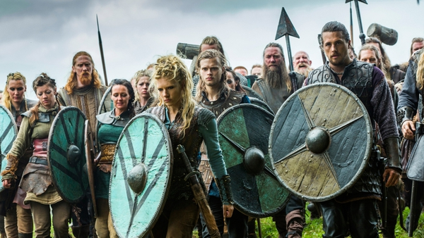 """Casting directors across the world must have held their breath in shock at the thoughts of re-casting all their TV Vikings with black hair."""