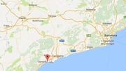 Six civilians and a police officer were injured in the operation in Cambrils (Google maps)