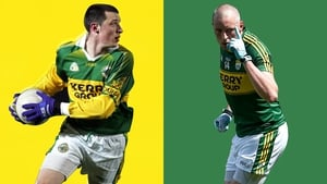 Kieran Donaghy then and now