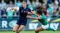 Ireland go down fighting against French flair
