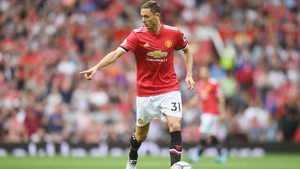Matic made the summer switch from Stamford Bridge