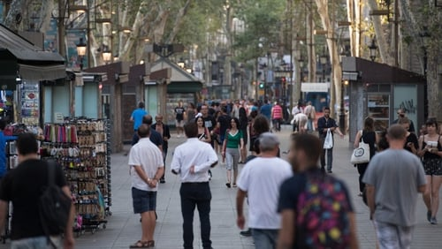 People and businesses get back to daily life on Las Ramblas after the attack