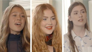 The three finalists for Celtic Woman Voices Of Angels competition