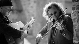 Fiddler Martin Hayes and regular collaborator Dennis Cahill, mainstays of the Masters Of Tradition festival in West Cork