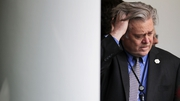 A source familiar with the decision said Steve Bannon had been given an opportunity to depart on his own terms