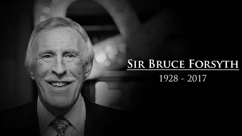 Sir Bruce Forsyth has died aged 89