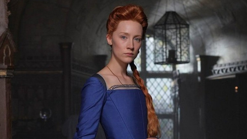 Saoirse Ronan as Mary Queen of Scots. Picture courtesy of Focus Features