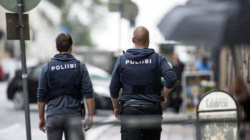 The attack happened at a market square in the city of Turku