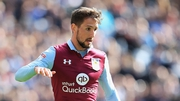Conor Hourigane hit a hat-trick against Norwich City at Villa Park
