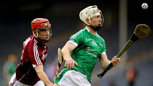 Galway's Jack Grealish chases Cian Lynch of Limerick