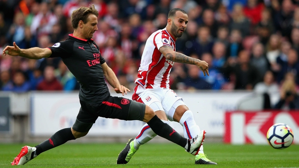 Jese evades Nacho Monreal to score the only goal of the game