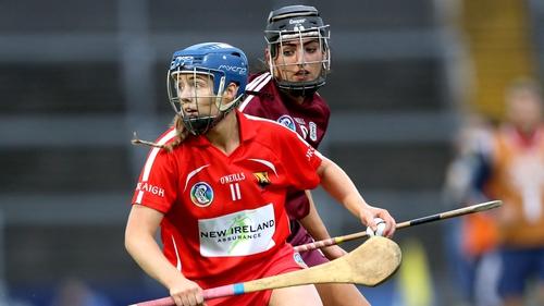 Orla Cronin evades the challenge of Galway's Niamh McGrath