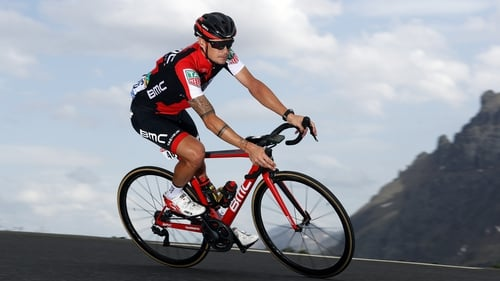 Nicolas Roche is still well poised at the Vuelta