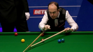 Fergal O'Brien was beaten by Ali Carter in the quarter-finals