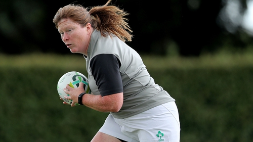 Ruth O'Reilly (above) has been replaced in the squad by Ulster's Ilse Van Staden