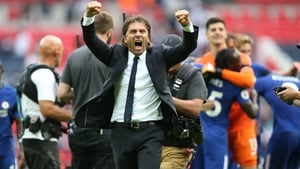 Antonio Conte won the league in his first season with Chelsea last year