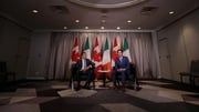 Leo Varadkar yesterday held talks with Canadian Prime Minister Justin Trudeau