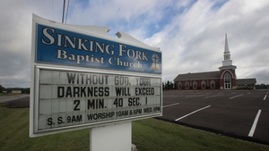 Hopkinsville, Kentuck is near the point of the greatest totality for the eclipse - Sinking Fork Baptist Church takes advantage of the event to spread the word