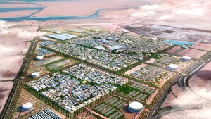 Masdar City in Abu Dhabi. Photo: ???????? Forgemind ArchiMedia https://www.flickr.com/photos/eager/