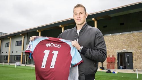 Burnley striker Chris Wood
