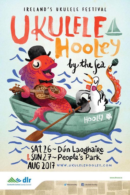 Ukulele Hooley in Dun Laoghaire 2017