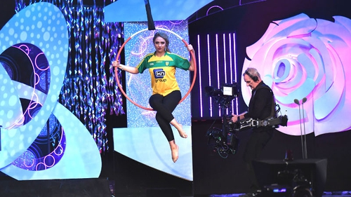Donegal Rose Amy Callaghan hit new heights down in the Dome