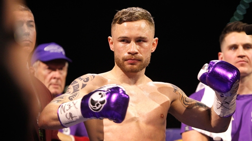 Carl Frampton announces split from Cyclone Promotions