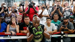 Floyd Mayweather is determined to 'go out with a bang'