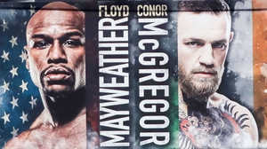 Floyd Mayweather and Conor McGregor face off in Las Vegas on Saturday night